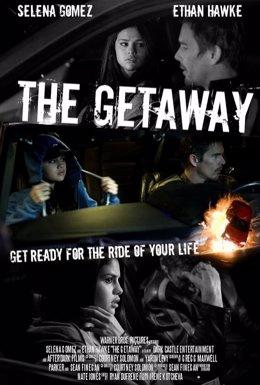 Selena Gomez y Ethan Hawke en Getaway