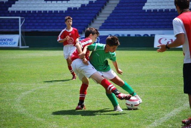 Niños Fútbol Fundación Marceta
