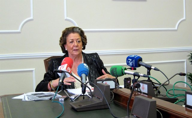 Alcaldesa de Valencia, Rita Barberá