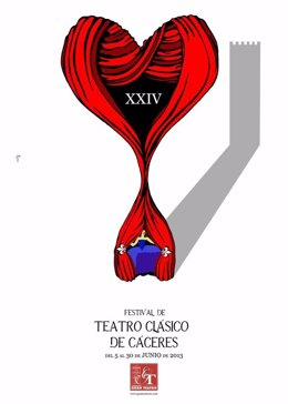 Cartel Del XXIV Festival De Teatro Clásico De Cáceres