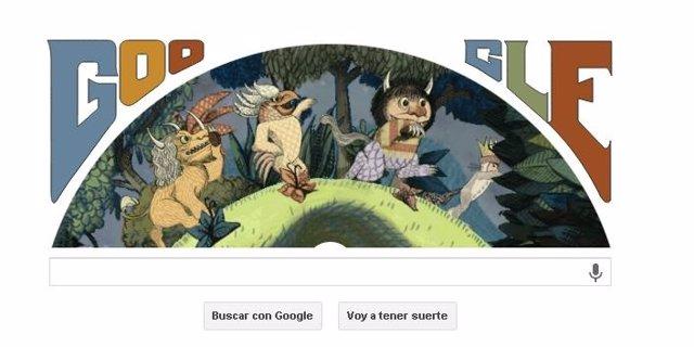 Google homenajea a Maurice Sendak con un doodle
