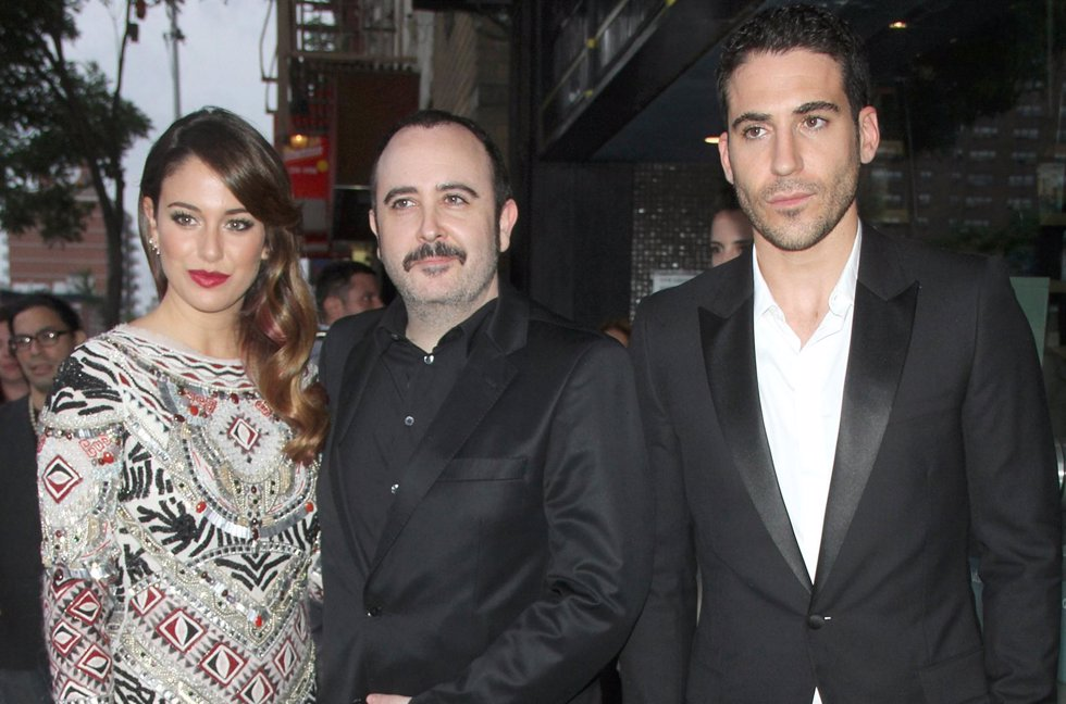 Blanca Suarez, Carlos Areces and Miguel Angel Silvestre at the screening of Sony