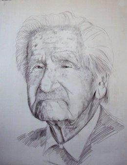 Antonio Tomás. Foto retocada para catalogo de  Silvestre de Edeta arte en red