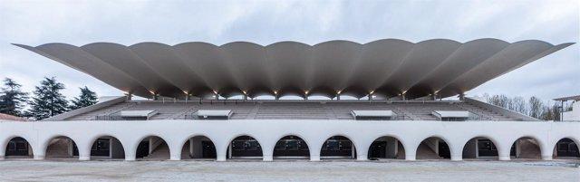 Hipódromo de la Zarzuela Madrid. Esposición 60 miradas a Ferrovial