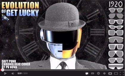 Versionan 'Get Lucky', de Daft Punk, con un viaje sonoro de 1920 a 2020