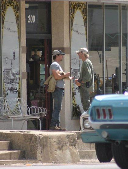 Primeras imágenes de Mark Wahlberg en el rodaje de 'Transformers 4'