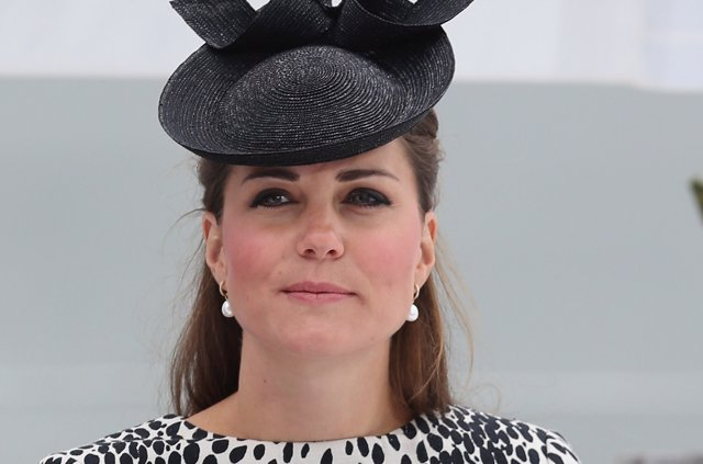 Kate Middleton trasatlántico