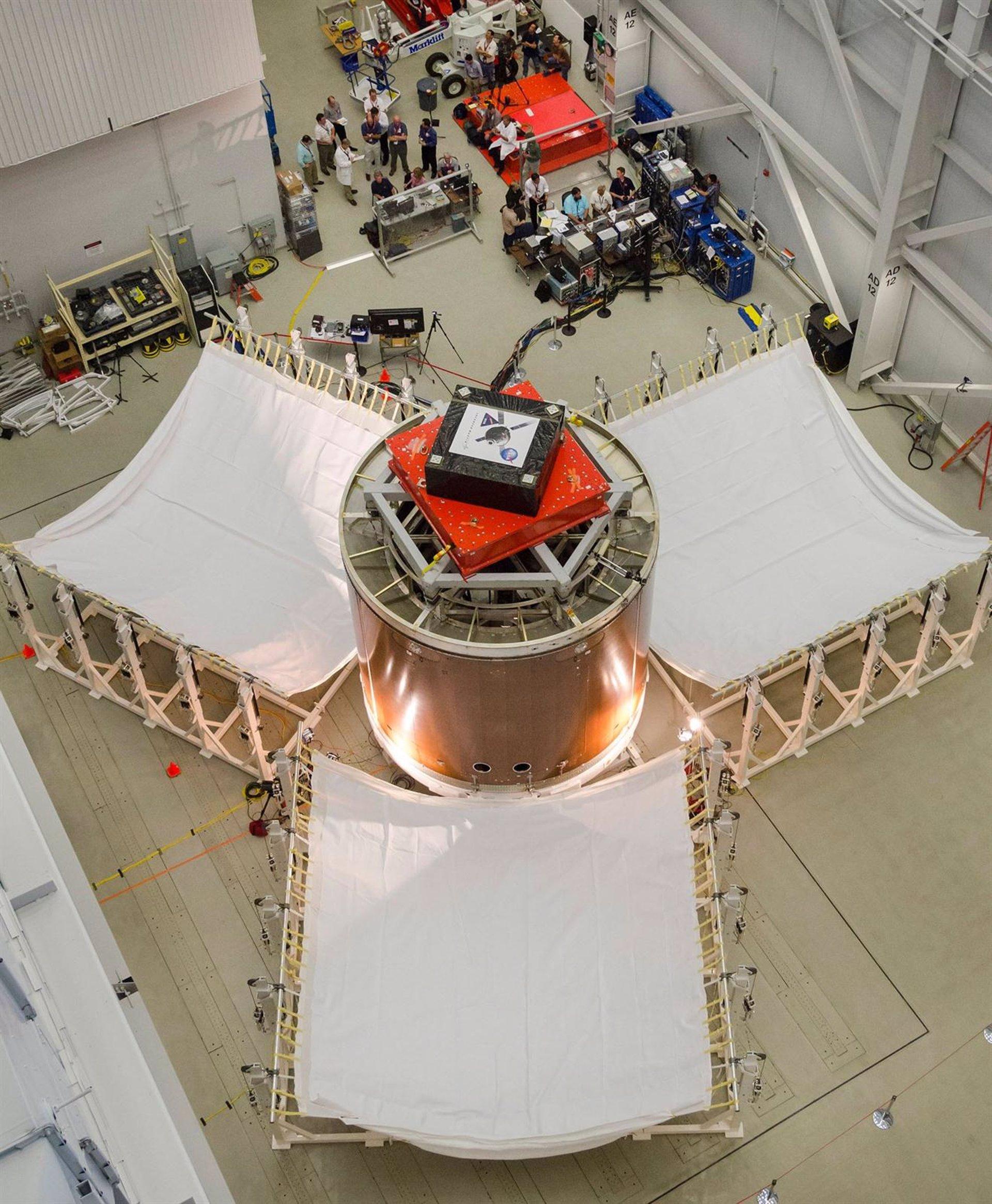 Contratiempo en las pruebas de la futura nave espacial profunda de la NASA