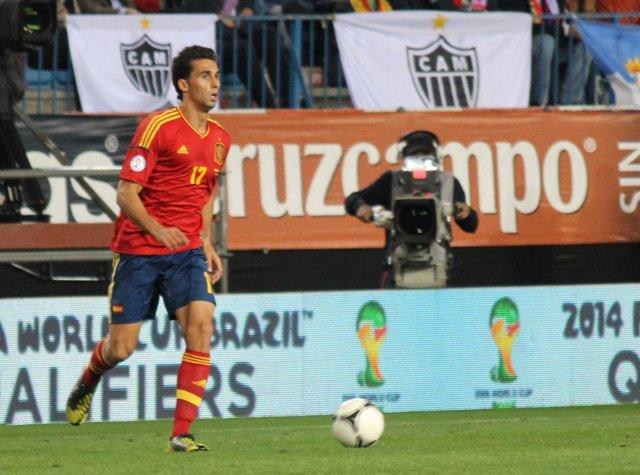 Arbeloa Selección Española