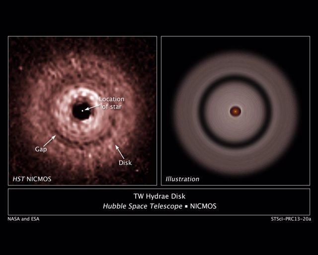 Exoplaneta en formación