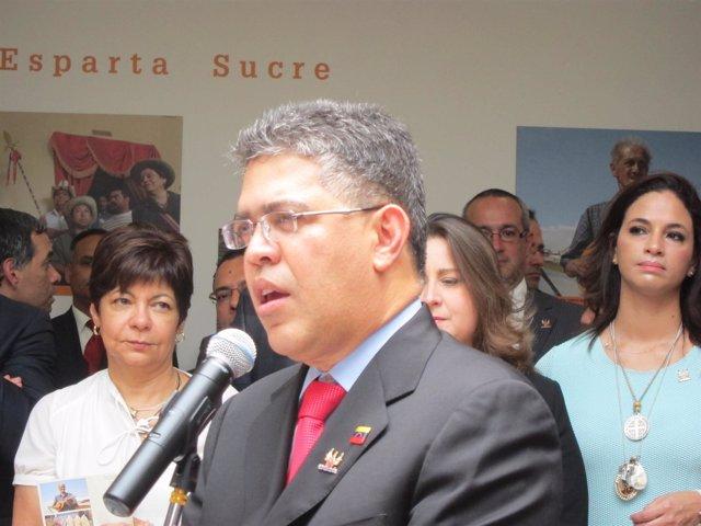 Elías Jaua, ministro de Exteriores de Venezuela