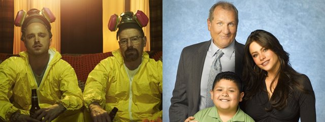 Montaje 'Breaking Bad' y 'Modern Family'