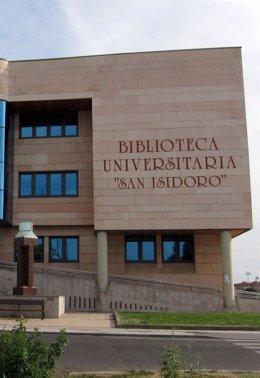 Biblioteca San Isidoro de la ULE, que acogerá el encuentro