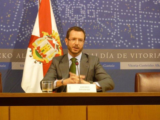 El Alcalde Del PP En Vitoria, Javier Maroto