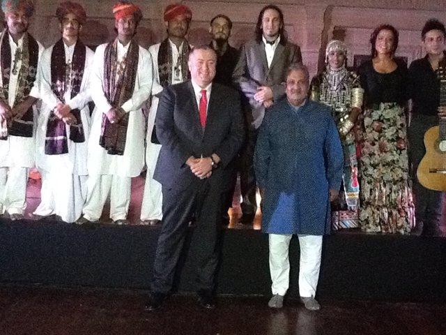 Bernabé; el Maharajá de Jodphur, Gadj Singh II; y el grupo Flamenco Roots