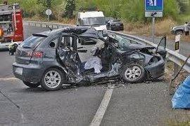 El 061 atendió a 72 personas por 53 accidentes de tráfico registrados el fin de semana en Galicia, de las que una murió