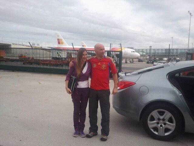 Los dos turistas españoles que fueron secuestrados en Colombia llegan a Madrid