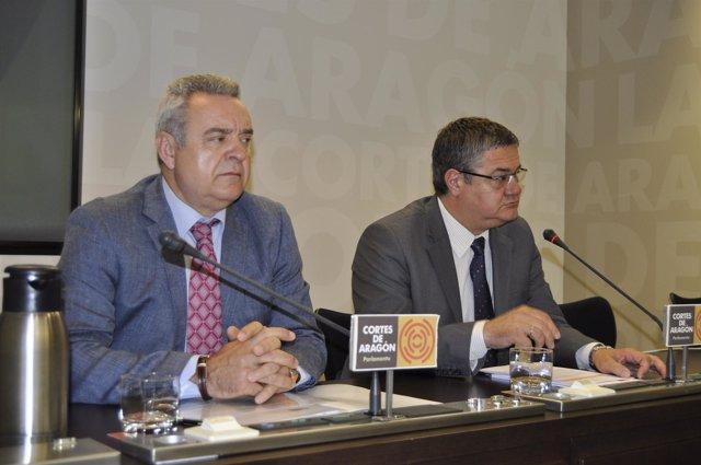 Alfredo Boné (PAR) y Antonio Torres (PP) han defendido la Ley de Lenguas
