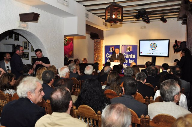 Presentación en Madrid de imagen 'Marca España' de Fundación Cante de las Minas