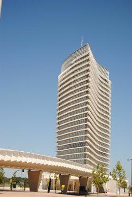 Torre Del Agua, En El Recinto Expo