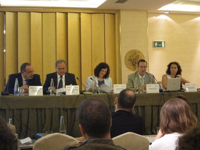 Mario Espejo (estanqueros), José Luis Fernández, Manuel Cuevas, Mónica Dopico