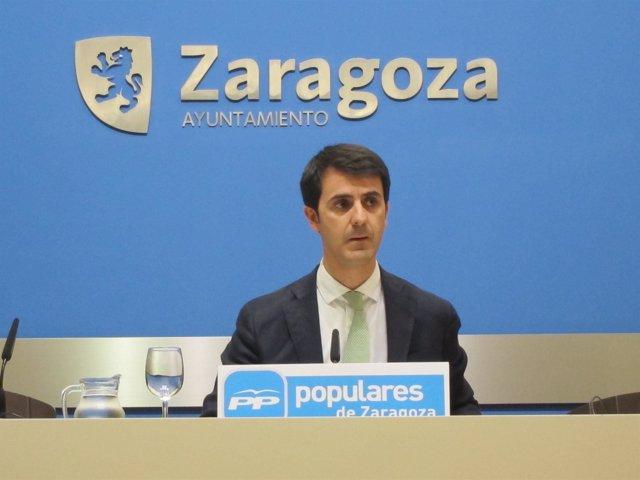 El portavoz adjunto del PP, Pedro Navarro