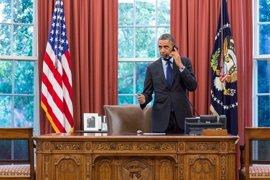 El nivel de aprobación de Obama cae al 45 por ciento