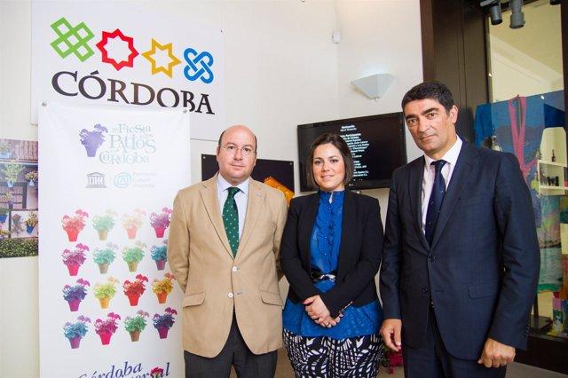 Presentación del punto informaticvo de Córdoba en Museo Thyssen málaga