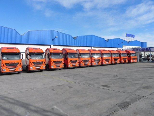 Unidades del nuevo camión Iveco Stralis Hi-Way