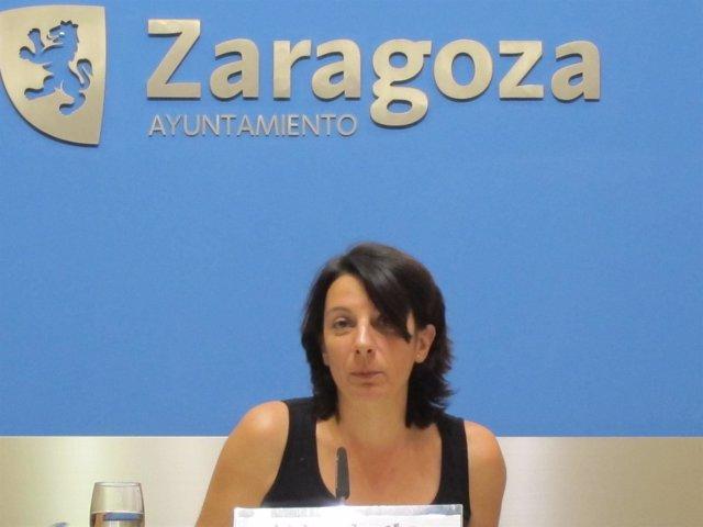 La concejal de CHA Leticia Crespo