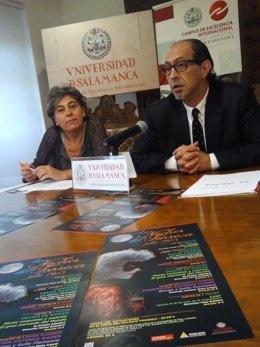 Cristina Pita y Manuel Heras