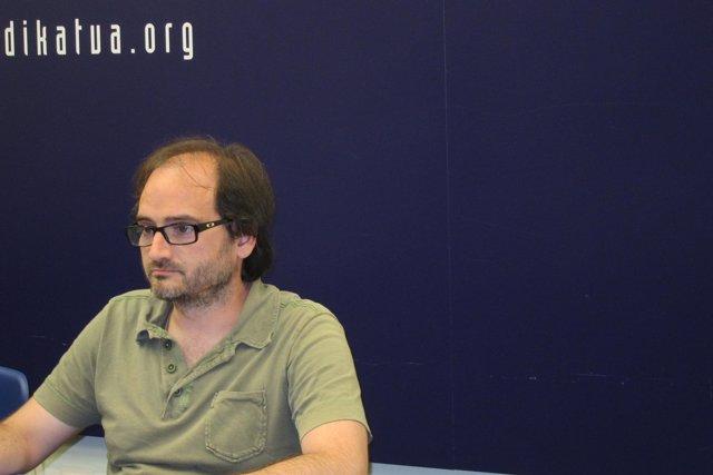 Asier Imaz, responsable de Industria de LAB