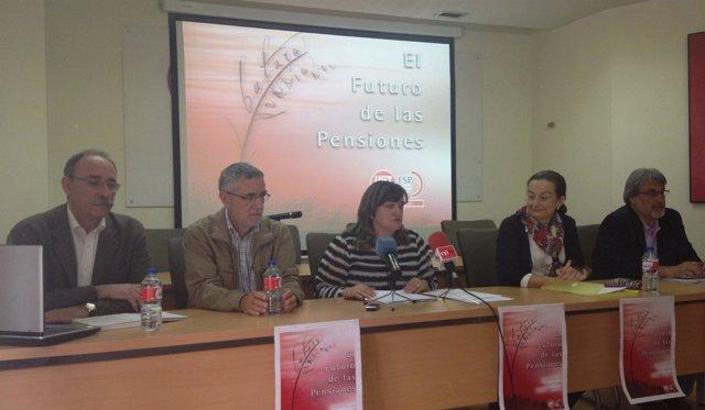 Mesa redonda sobre el Futuro de las Pensiones, organizada por UGT