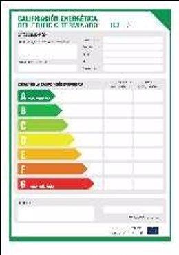 Etiqueta de Eficiencia Energética de los Edificios