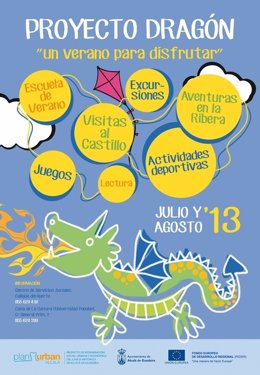 Cartel anunciador del Proyecto Dragón.