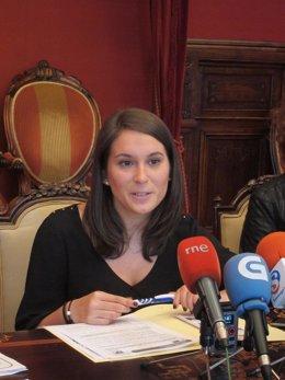 María Castelao, portavoz adjunta del gobierno local de Santiago