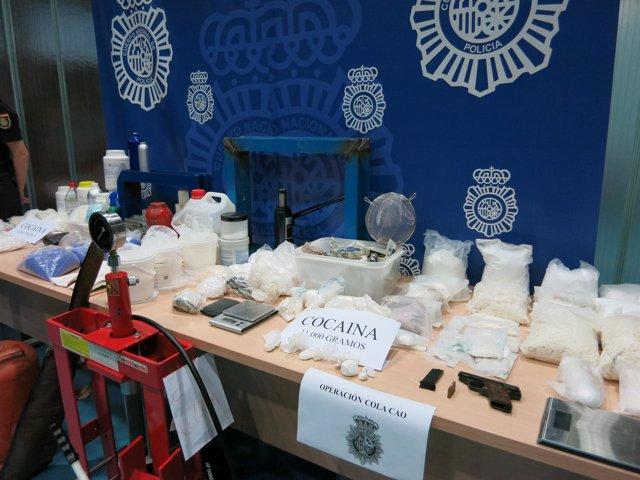 La Policía Nacional se incauta de 17 kilos de cocaína