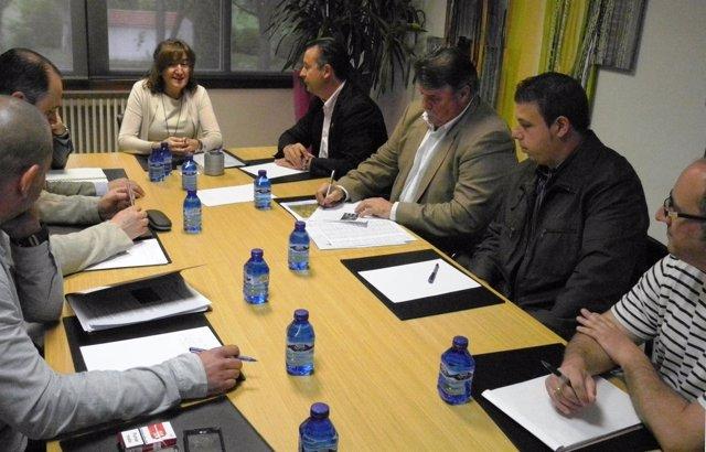 Reunión de Asaja con María Jesús Pascual