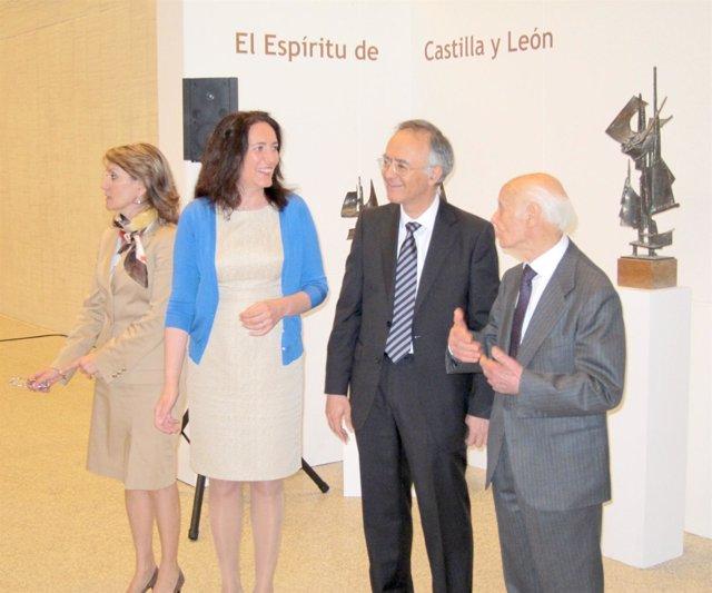 García Cirac conversa con Venancio Blanco