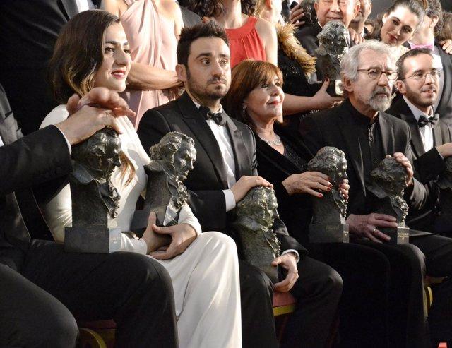 Ganadores de los Premios Goya 2013