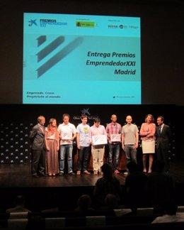 Entrega de Premios EmprendedorXXI 2013