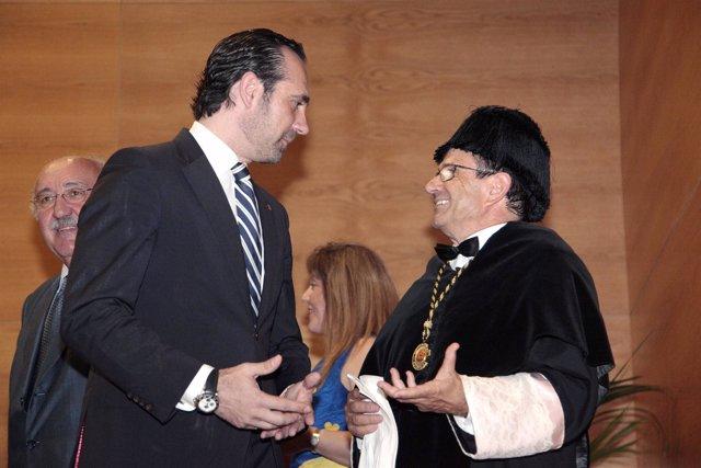 José Ramón Bauzá y Llorenç Huguet
