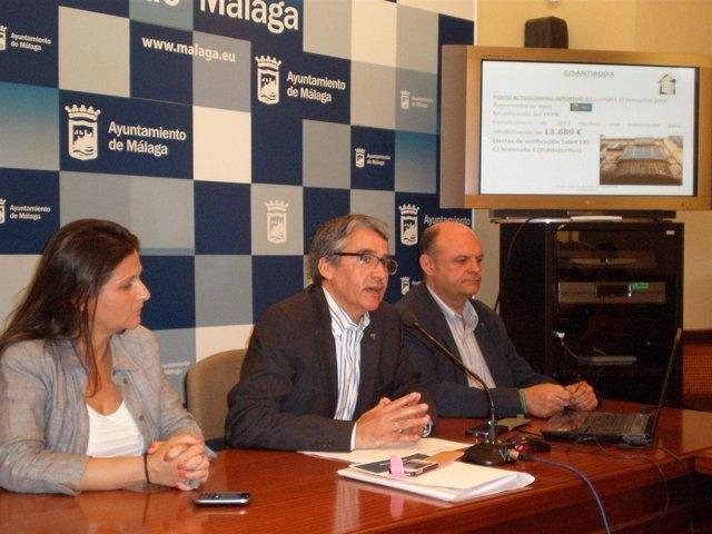 El viceportavoz del PSOE en el Ayuntamiento de Málaga, Manuel Hurtado