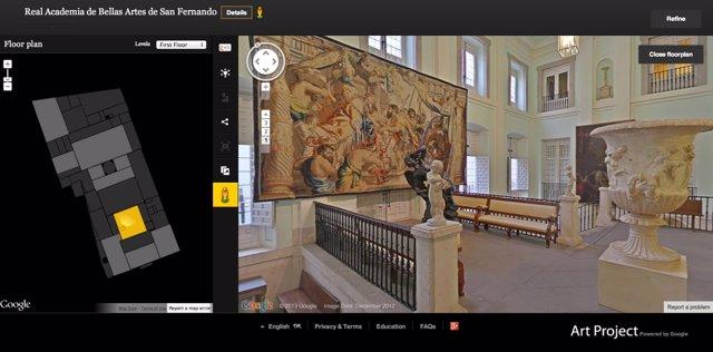 Google Art Project incorpora ocho nuevas instituciones españolas