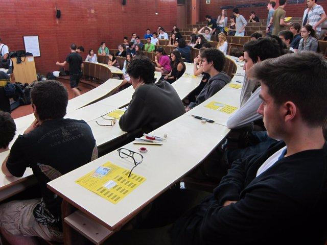 Selectividad 2013, alumnos, exámenes, pruebas, universitarios, universidad, PAU