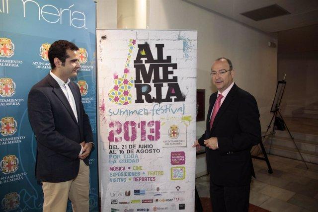 El alcalde de Almería presenta Almería Summer Festival