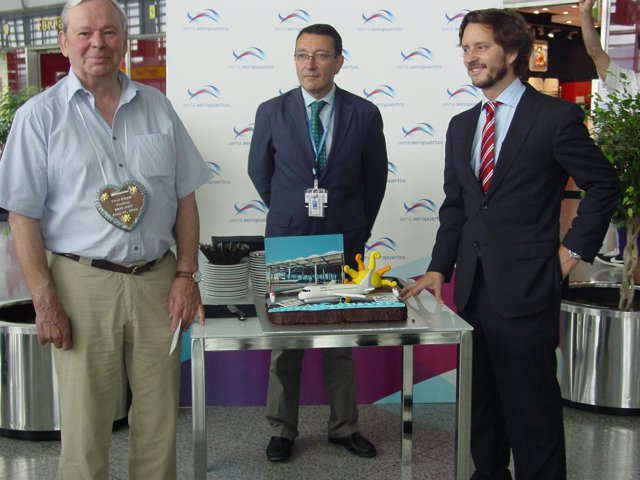Salvador Merino director aeropuerto nueva ruta vueling málaga-munich