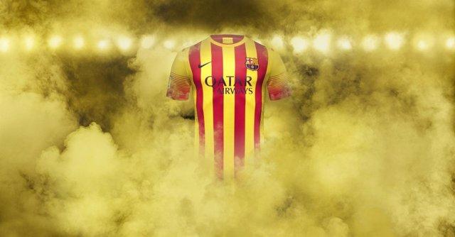 Camiseta de la Senyera del Barça