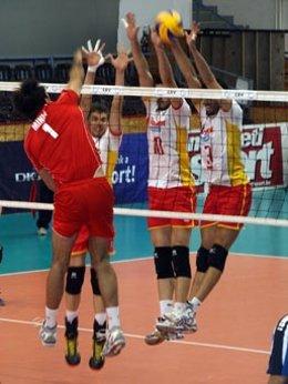 Montenegro-España, Liga Europea Voleibol 2013