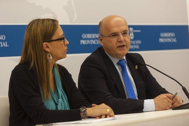 Elena Muñoz y José Manuel Baltar